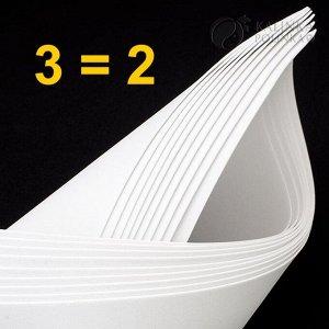 Фоам ЭВА (пластичная замша), белый, р-р листа 20х30мм, толщина 1мм, пр-во КНР.