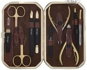 Metzger набор маникюрный ms-310-hg (10 предметов) (а)