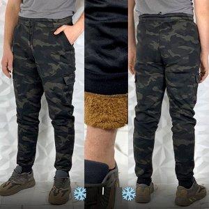 Штаны с двойными карманами