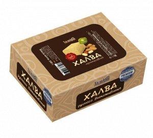 Халва арахисовая на фруктозе, 250г, /картон/