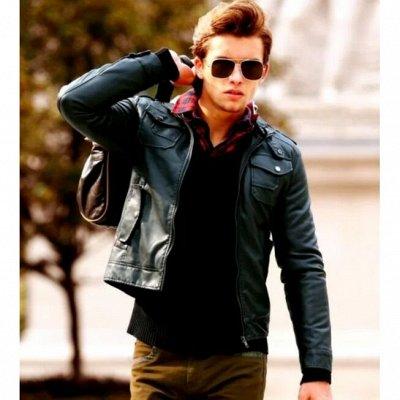 🌸 Весеннее обновление! Куртки, джинсы, водолазки, кофточки — Мужские куртки из эко-кожи. — Куртки