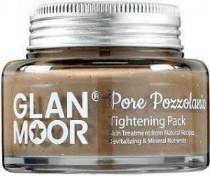 Маска для лица с пуццоланом, сужающая поры GLAN.MOOR   Pore Pozzolanic Tightening Pack