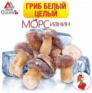 Белые грибы целые 1кг МОРСианин