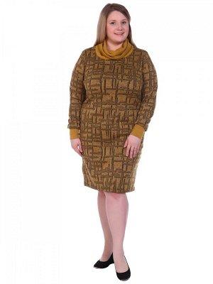 Платье Пэ89% вискоза7%спандекс4% Описание: Платье женское прямого кроя с длинным рукавом на манжети и воротником хомут. Рост модели 175см.