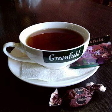 Идеальный чай и вкуснейший кофе☕ — Чай Гринфилд — Чай