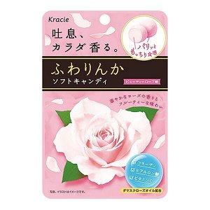 Жевательные конфеты красоты Kracie Beauty Rose.