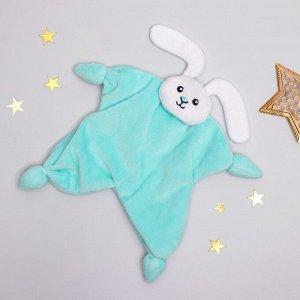Комфортер Плюшевый зайка-утешитель для спокойного сна малыша.  Комфортер — это специальная мягкая игрушка в кроватку, чтобы он чувствовал себя уютно во время сна. Секрет в том, что ткань впитывает зап