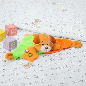 Комфортер Плюшевая собачка-утешитель для спокойного сна малыша. Комфортер — это специальная мягкая игрушка в виде небольшого одеяльца, которой укрывают малыша, чтобы он чувствовал себя уютно во время