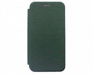 Чехол-книжка Soft-Touch универсальный с клеем 4.7-5.0'' (темно-зеленый)