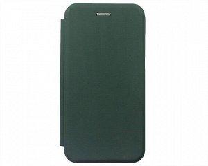 Чехол-книжка Soft-Touch универсальный с клеем 5.5-6.0'' (темно-зеленый)