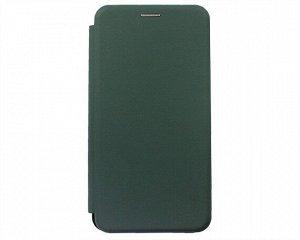 Чехол-книжка Soft-Touch универсальный с клеем 6.0-6.5'' (темно-зеленый)