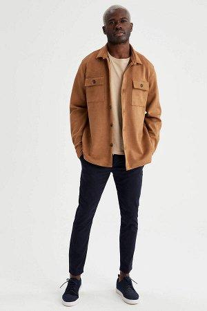 рубашка Размеры модели: рост: 1,88 грудь: 95 талия: 70 Надет размер: L Elastan 10%, Полиэстер 90%