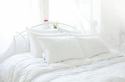 Бамбуковый Sale! -30% на классные подушки! — Лебяжий пух сатин — Подушки