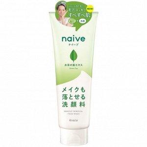 """60792kr """"Naive""""  Пенка для умывания и удаления макияжа с экстрактом чайного листа, 200г"""