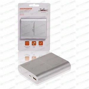 Аккумулятор внешний универсальный 6000мАч: USB 5V 2.1A AIRLINE APB0602