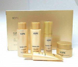 IOPE Super Vital special gift rich set Антивозрастной набор миниатюр