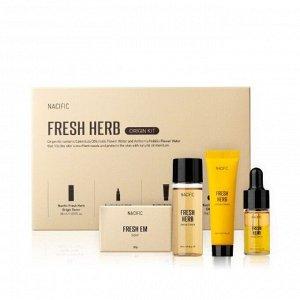 Nacific Fresh Herb Origin Kit Мини-набор на основе трав, 30мл/30мл/10мл/20мл