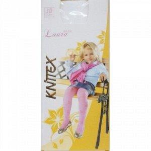 """K-4-01 Колготки """"LAURA"""" молочные 92/98 р для девочек KNITTEX"""