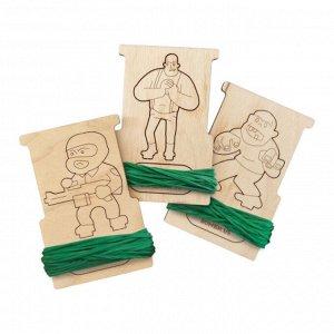 Резинки для резинкострелов Arma.toys с одной коллекционной мишенью