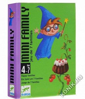 Детская настольная карточная игра Мини-семья