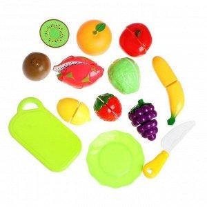 Набор продуктов для резки «Фрукты», на липучках