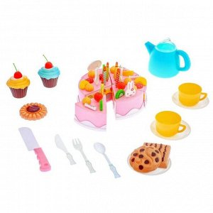"""Торт с пирожным """"Сладкоежка"""", 21 предмет"""