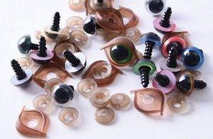 Глазки для игрушек(с заглушками)