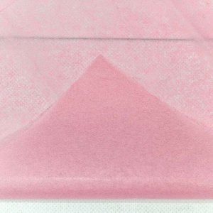 0001337/15 Бумага тишью 50*66 см розовый (10 листов в упаковке) 1/250