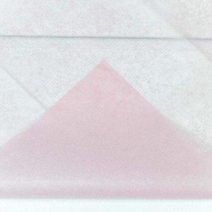 0001337/3 Бумага тишью 50*66 см светло-розовый (10 листов в упаковке) 1/250