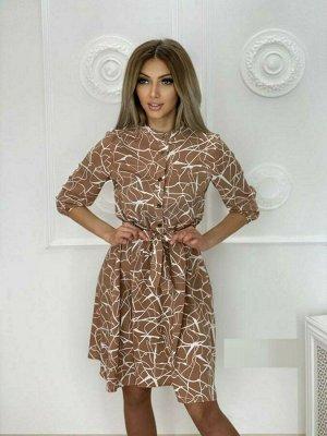 Платье ТКАНЬ ЛЕГРА  ДЛИНА 95 СМ