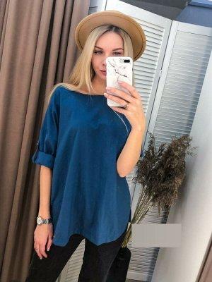Блуза ТКАНЬ ХБ  Длина 60 см., без выбора цвета