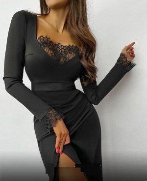 Платье Длина - 105см Ткань  трикотаж
