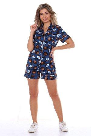 """Пижама с шортами """"Кокос"""""""