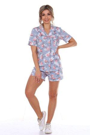 "Пижама с шортами ""Фламинго"""