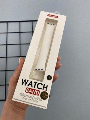 Силиконовый монобраслет Solo Loop для смарт часов Apple Watch  38/40 S