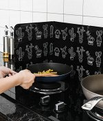 Экран для готовки, от брызг черный