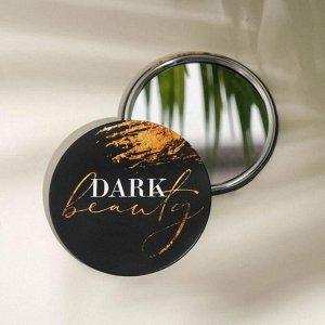 Зеркало карманное DARK, d=7 см