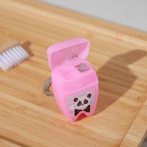 Зубная нить в форме зуба «Улыбнись», 15 м, 8 х 10,5 см
