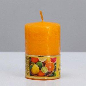 """Свеча ароматическая """"Лайм"""", 4?6 см, в коробке"""