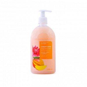 Нежное крем-мыло для рук и тела Le Vernissage Des Fruits «Нектар манго и имбирь», 1 л