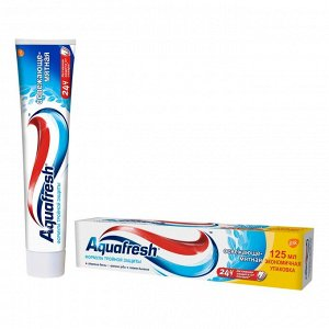 AQUAFRESH (АКВАФРЕШ) Зубная паста Освежающе-мятная 100мл,*12/PNS7093600