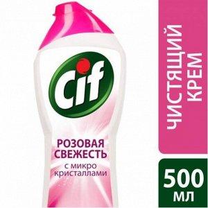 CIF (СИФ) Чистящий крем Розовая Свежесть 500мл