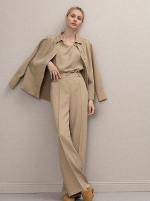 Однотонные брюки D189/ella