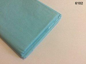 Бумага тишью (папиросная) 50*65см 10 листов цвет светло-голубой