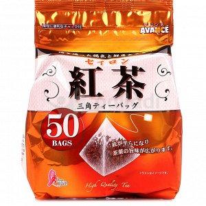 Kunitaro Чай чёрный Эйванс Цейлон в фильтрующих пакетах-пирамидках 50 шт х 1,8 г /Япония/