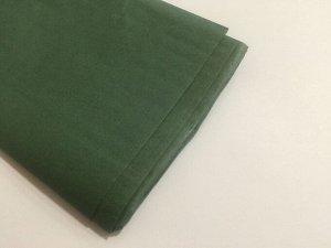 Бумага тишью (папиросная) 50*65см 10 листов цвет болотный зеленый