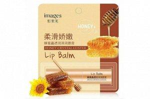 Увлажняющий бальзам для губ с медом
