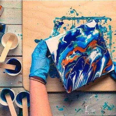 Art Идея. Вся палитра красок и товаров для творчества — Акриловые краски — Краски