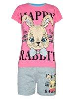 Комплект футболка и шорты для девочек арт. МД 005-19