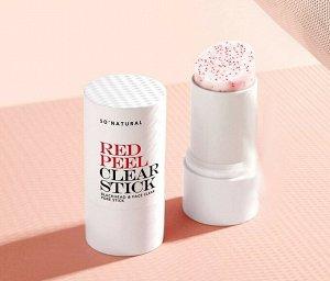 So Natural Red Peel Pore Clear Stick Cкатка-стик для очищения пор, 23 мл